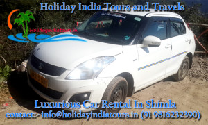 Car on rent at Shimla